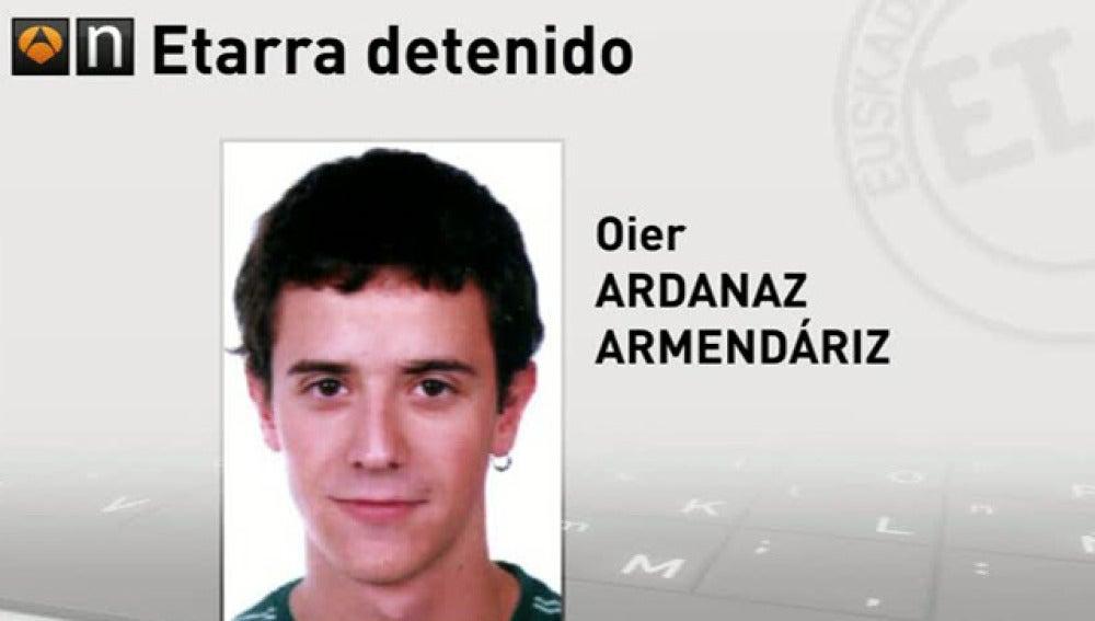 El etarra Oier Ardanaz Armendáriz