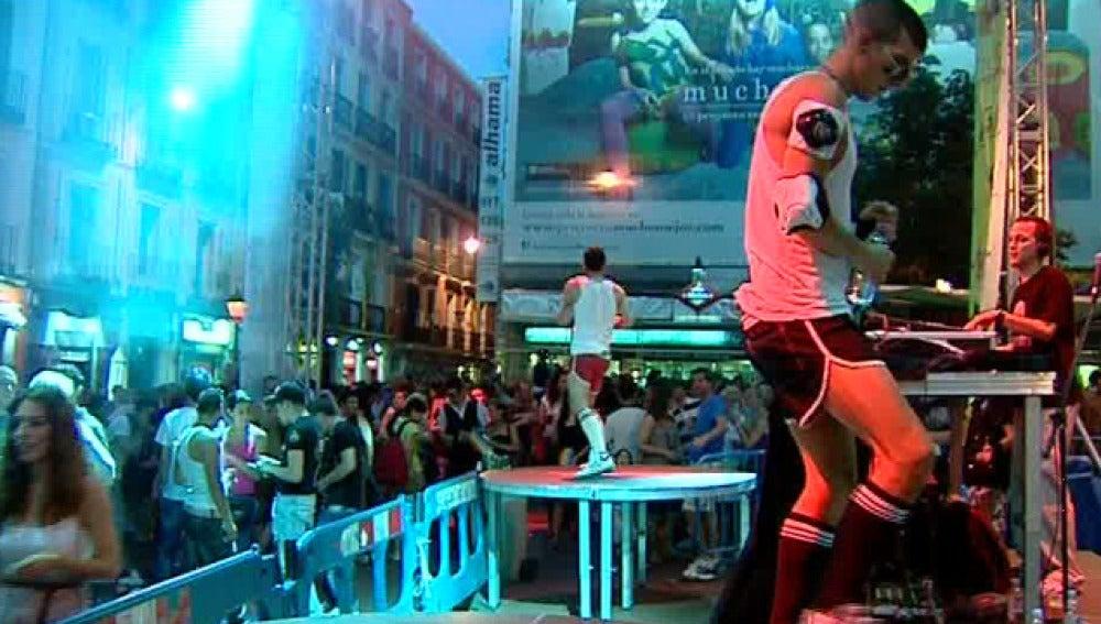 Fiesta sin ruido en Chueca (01-07-2011)