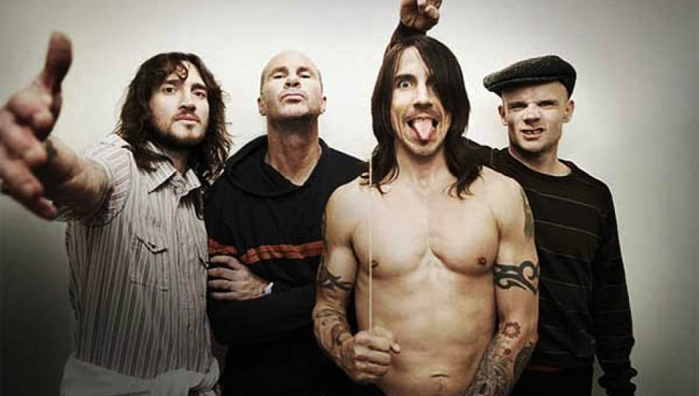 """Los Red Hot Chili Peppers presentan en España """"I'm with you"""""""