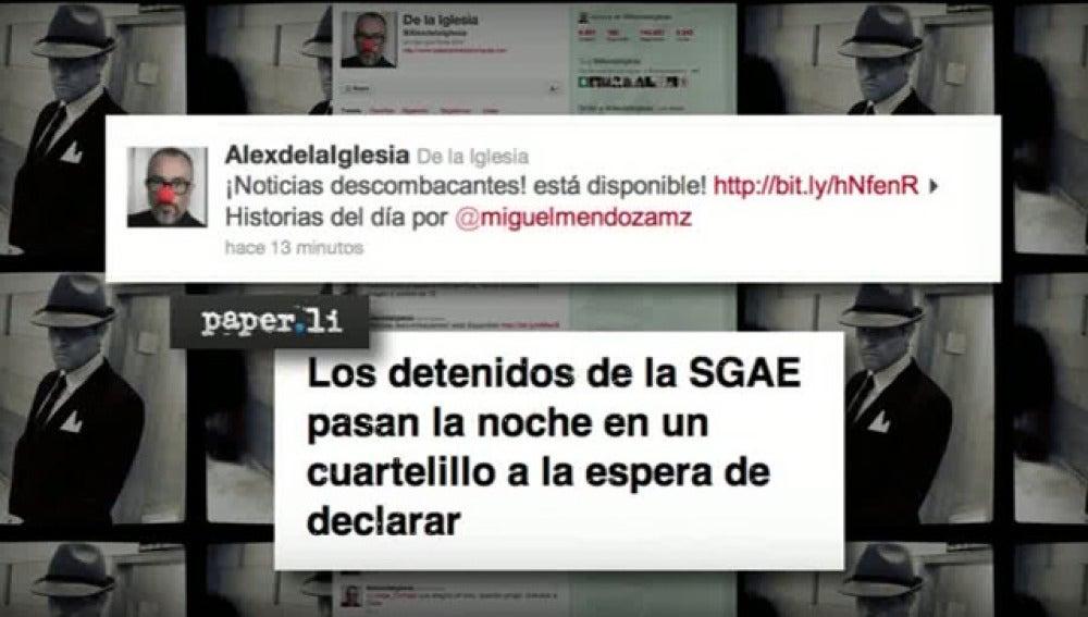 Reacciones al caso SGAE
