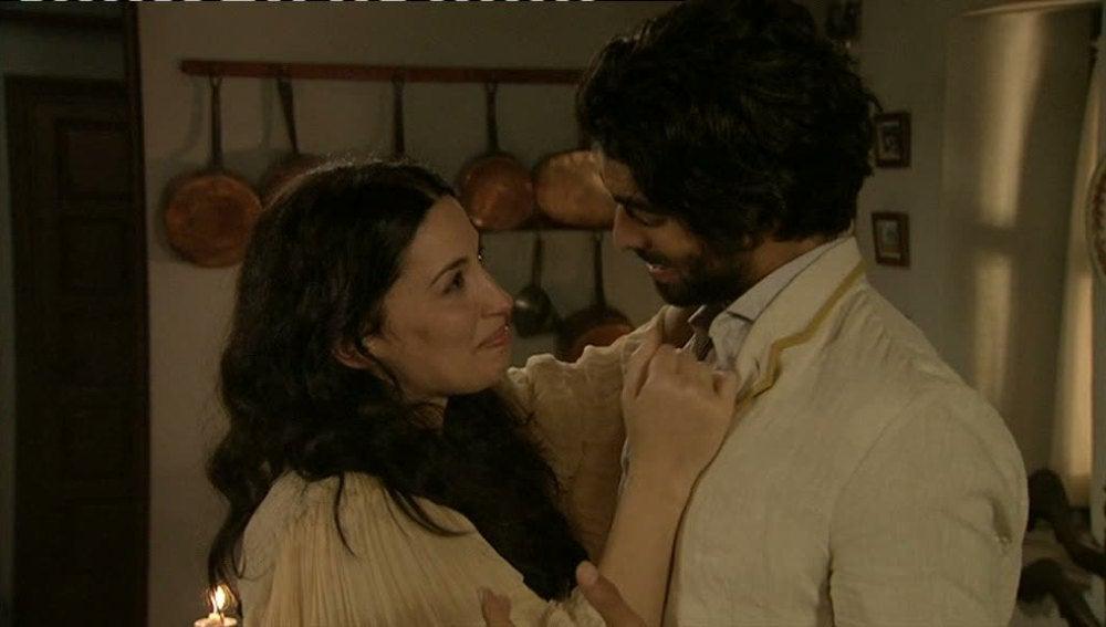 Martina se reencuentra con Jorge