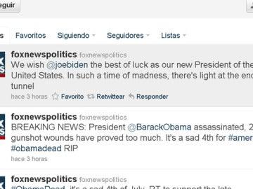 Cuenta de Twitter de Fox News