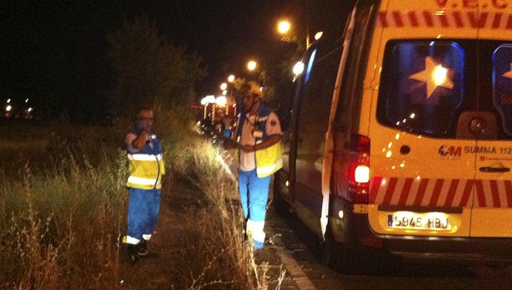 Accidente en Aranjuez