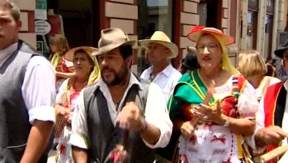 De romería en La Orotava