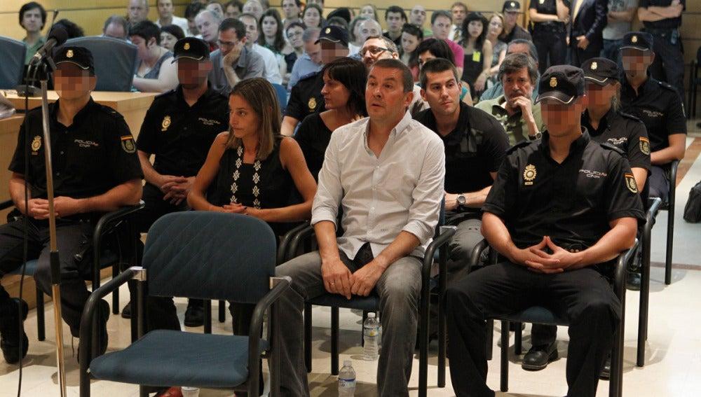 Arnaldo Otegi durante una comparecencia en la Audiencia Nacional