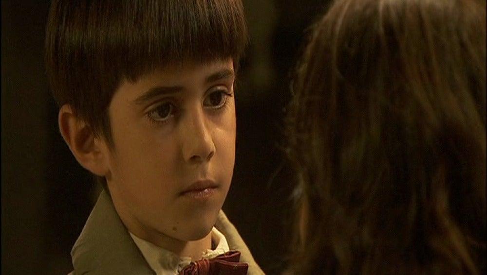 Martín quiere volver a ver a su padre