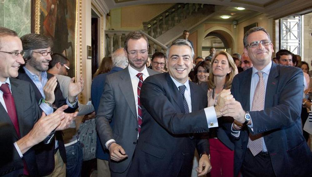 El nuevo diputado general de Álava, Javier De Andrés