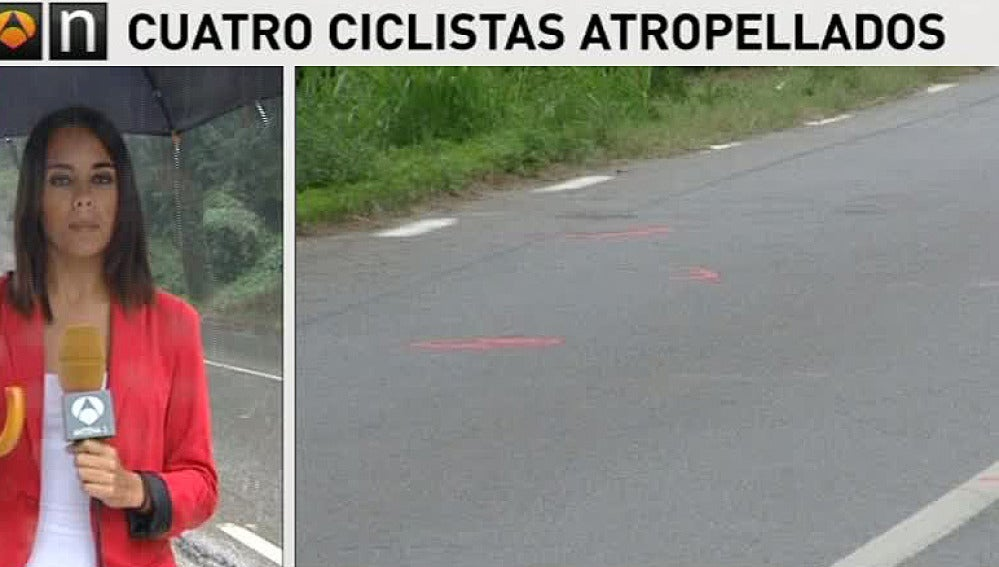 Muere uno de los ciclistas atropellado