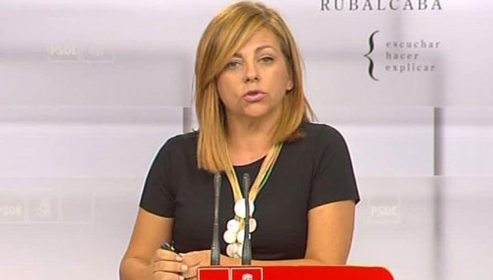 Elena Valenciano, directora de campaña del PSOE