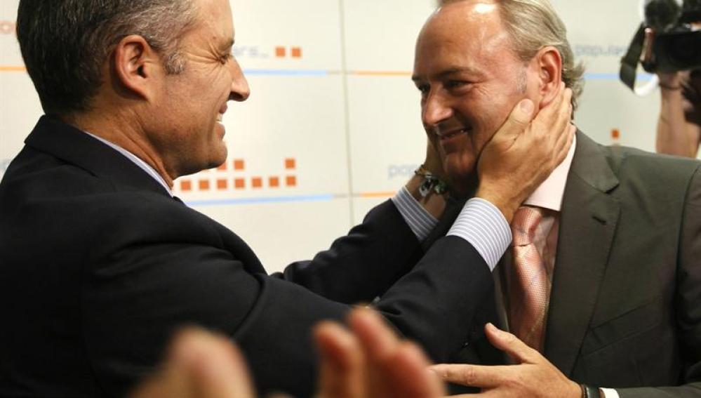 Alberto Fabra es elegido como el sucesor de Francisco Camps en la presidencia