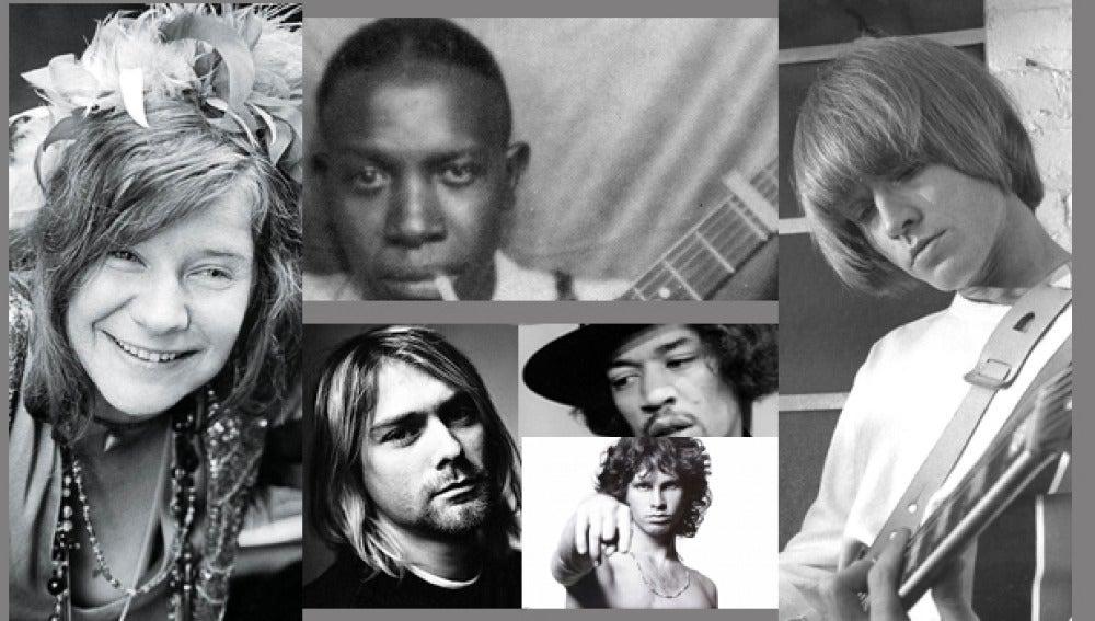Grandes artistas murieron a los 27