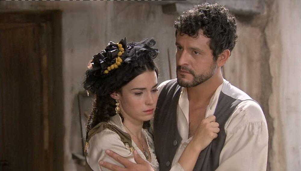 Eugenia y Roberto no soportan el tener que estar separados