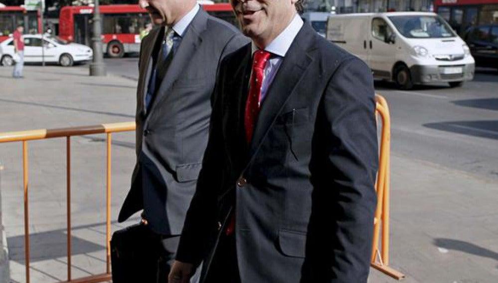 Costa y Campos presentan el aval con el que hacen frente a la fianza del caso Gürtel