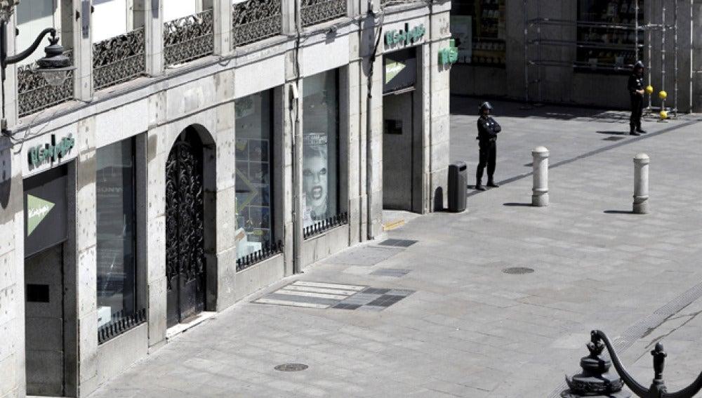 El PP de Madrid estudia convocar a sus afiliados a manifestarse en apoyo de los comerciantes de Sol