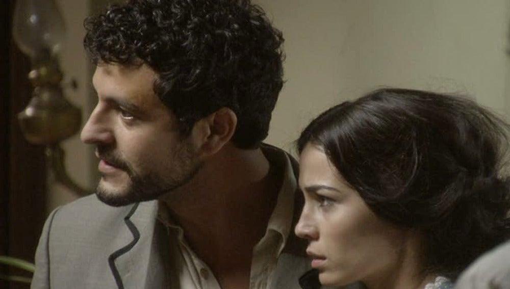 Roberto y Eugenia descubren la verdad