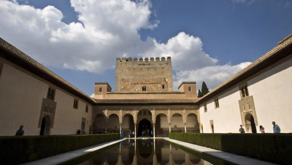 Exterior de la Alhambra de Granada.