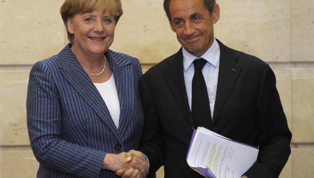 Merkel y Sarcozy