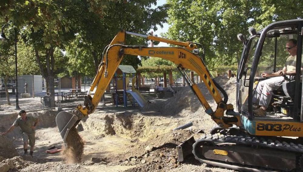 Exhumación de cuerpos en Palencia