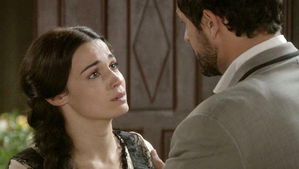 Eugenia tiene una recaída al ver a Roberto