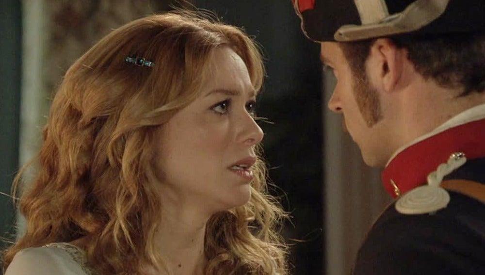 Sara se siente culpable por mentir a Miguel