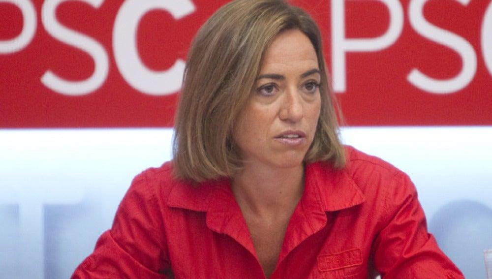 Carme Chacón, ministra de Defensa