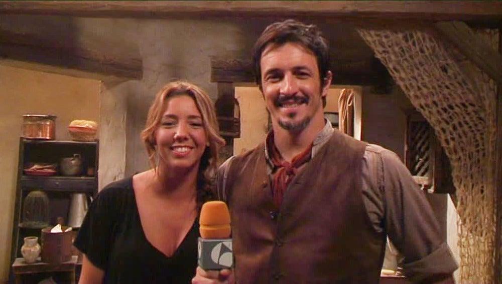 Entrevista con Sandra Cervera y Fernando Coronado