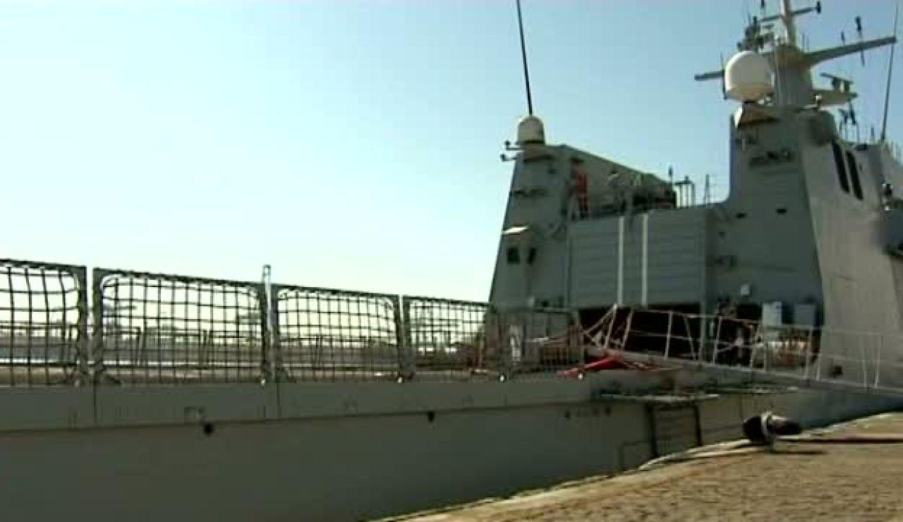 A bordo del Meteoro, el nuevo buque de la Armada