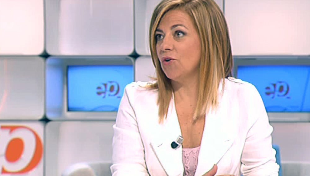 Elena Valenciano en Espejo