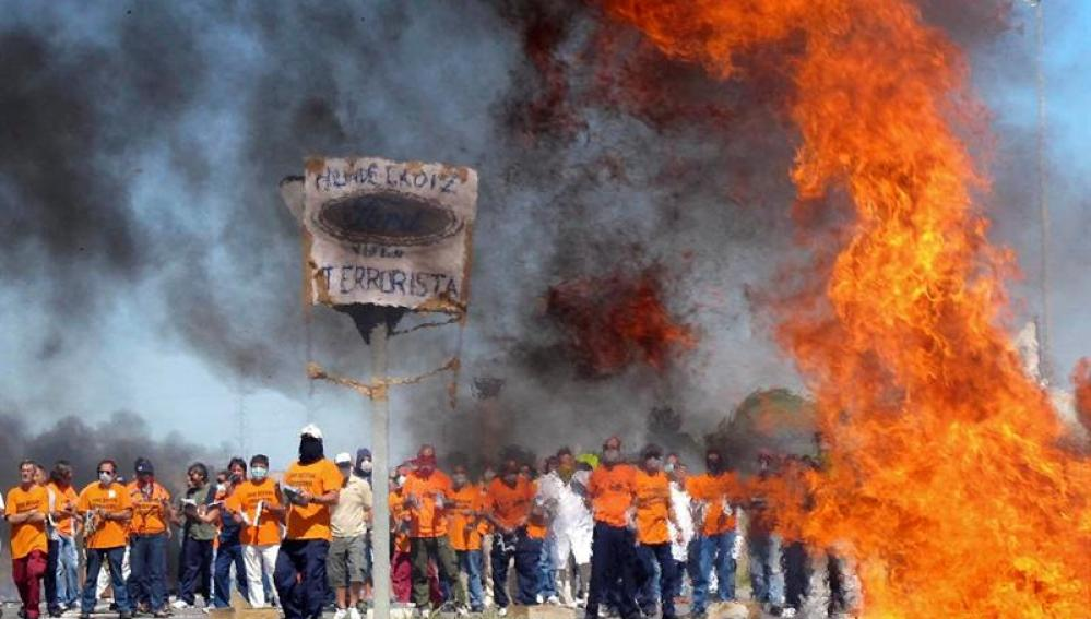 Protestas de los trabajadores de Visteon