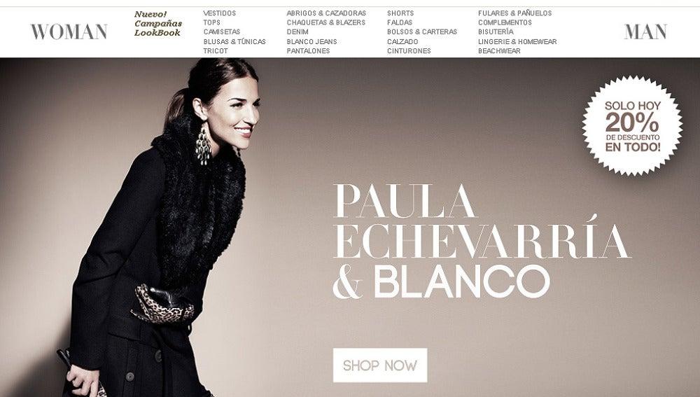 Campaña de Paula Echevarría para Blanco