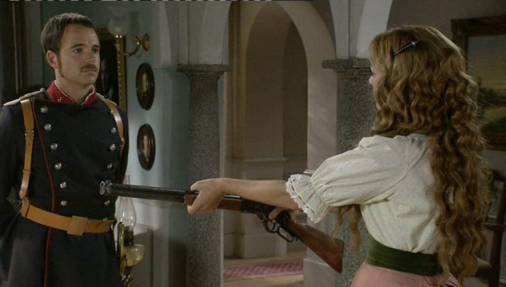 Sara decide quedarse en Arazana