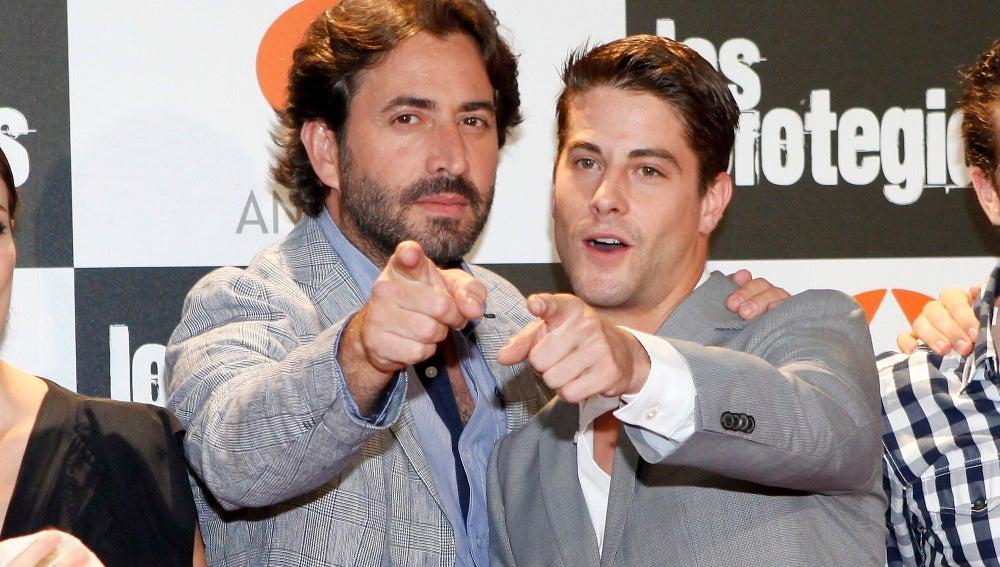 Antonio Garrido y Luis Fernández