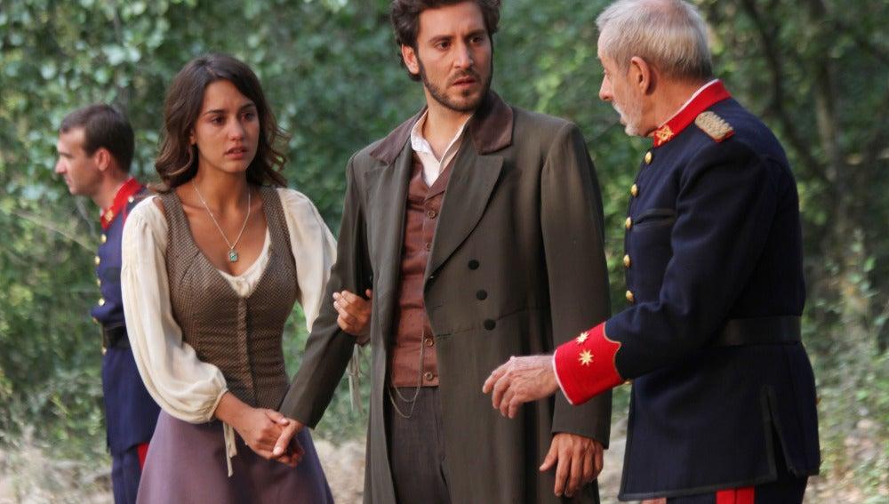 Pepa y Tristán van en busca de Martín