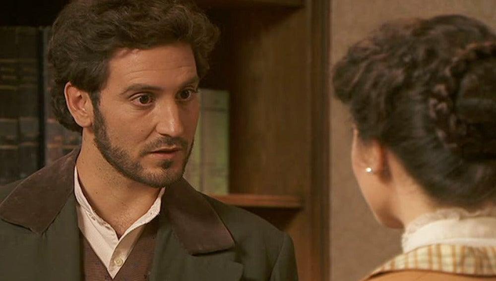 Francisca presenta a Tristán y Gregoria