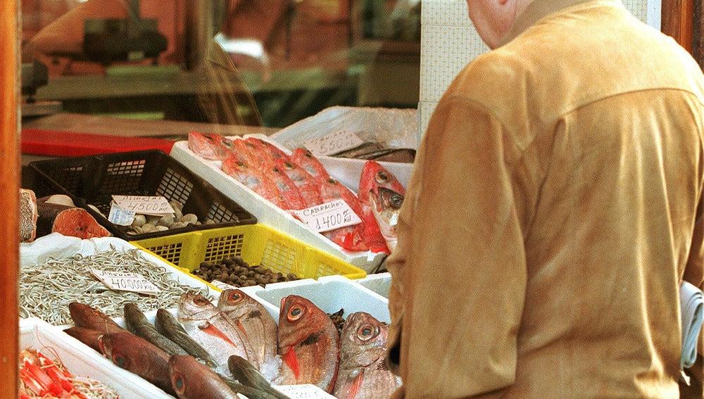 Una pescadería en Bilbao