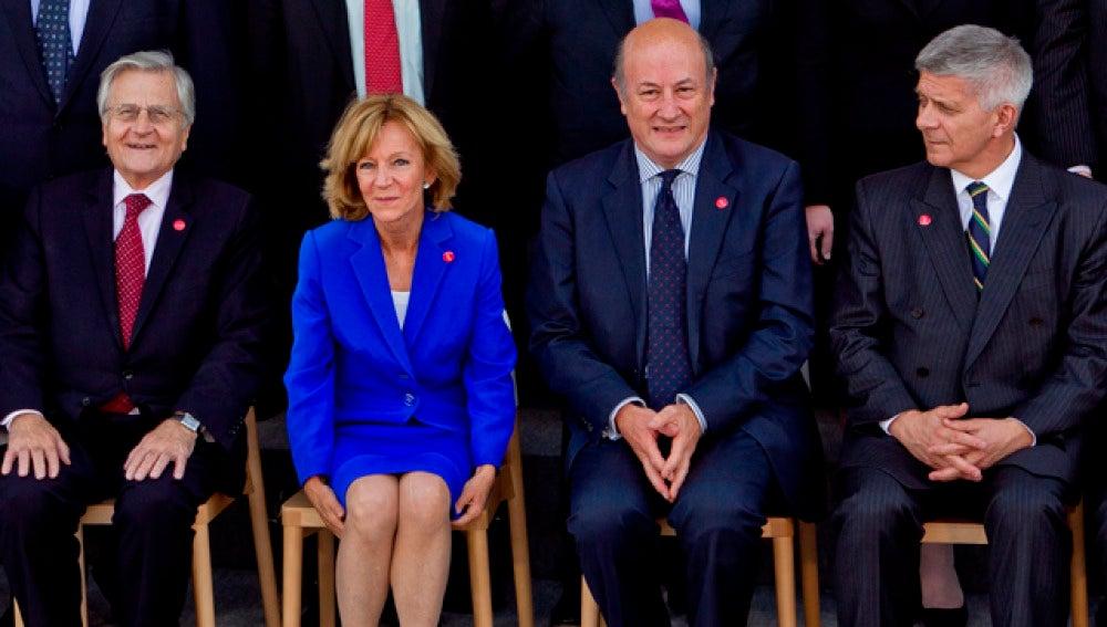 Trichet, Salgado, Rostowski y Belka