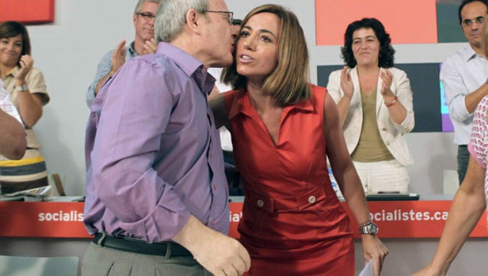Carme Chacón, proclamada candidata del PSC por Barcelona