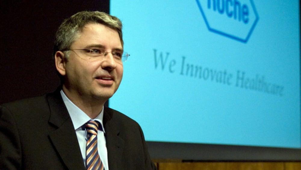 El presidente de Roche, Severin Schwan