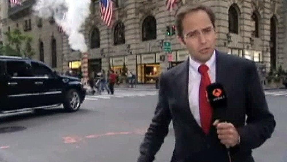 José Ángel Abad, en Nueva York