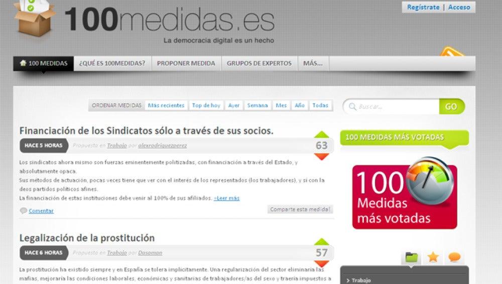 Nace una web que acoge propuestas y votación popular de medidas para el próximo Gobierno