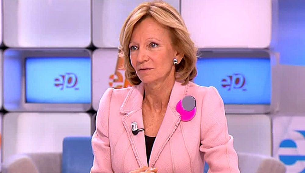 Elena Salgado en Espejo Público