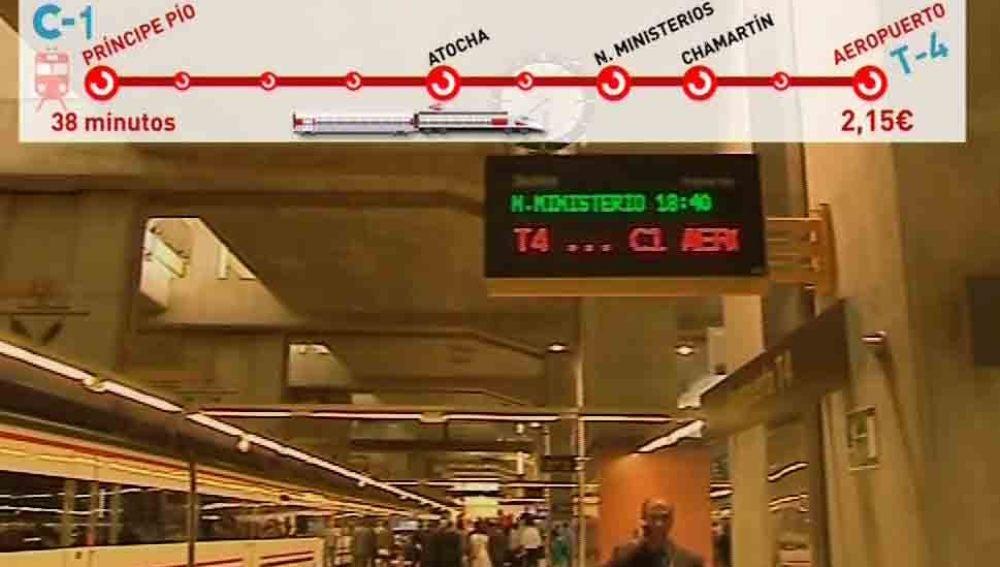 Nueva línea de cercanías en Madrid