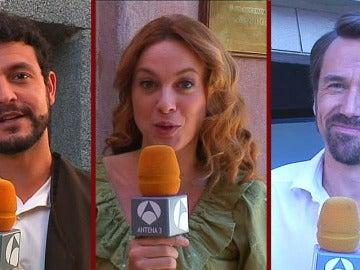 Los actores de Bandolera se despiden de Carles Francino
