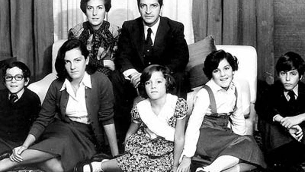 La familia Suárez al completo