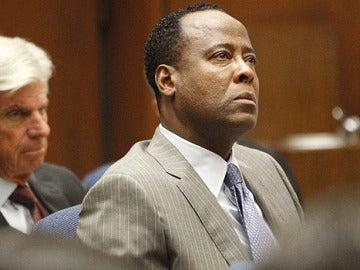 El Doctor Conrad Murray durante el juicio