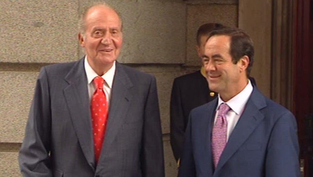 El Rey augura 'bastantes sacrificios' para España