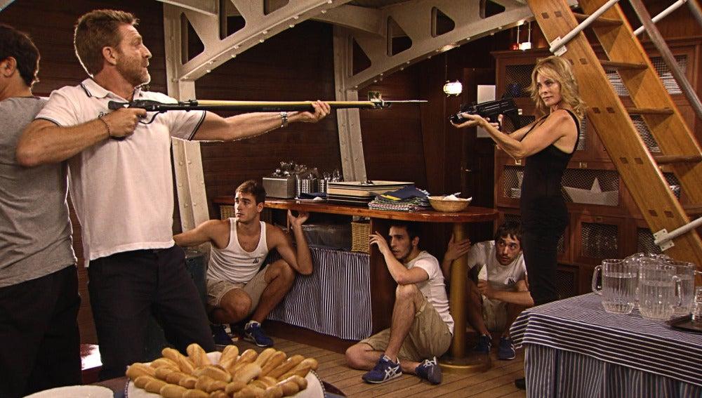 El capitán se enfrenta a Leonor