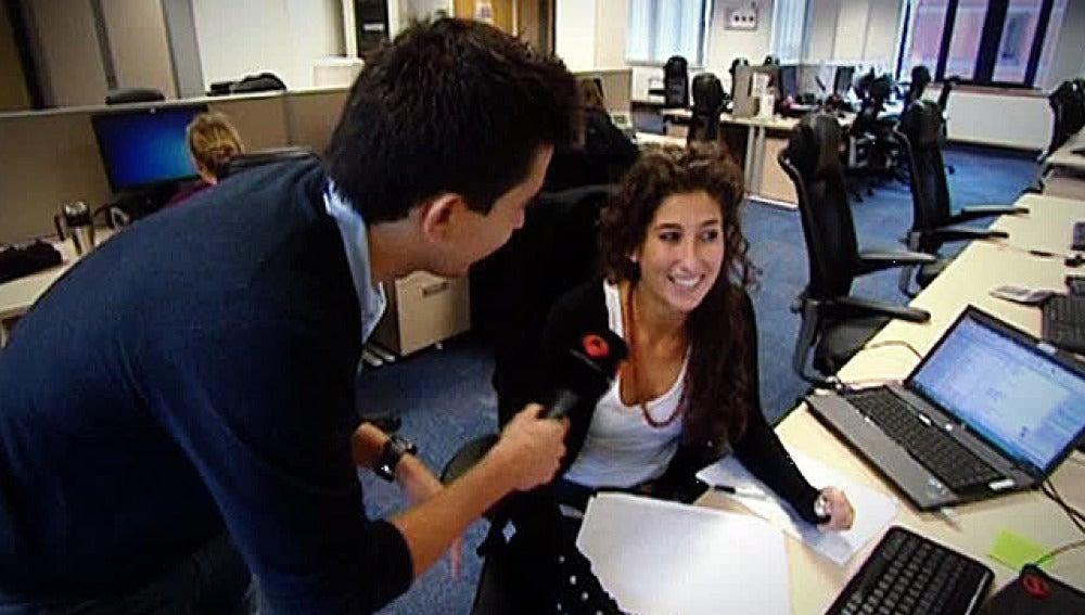 Carla, una licenciada que trabaja en Londres