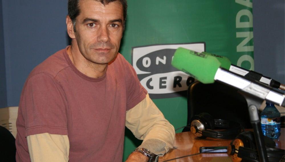 Toni Cantó en los estudios de Onda Cero