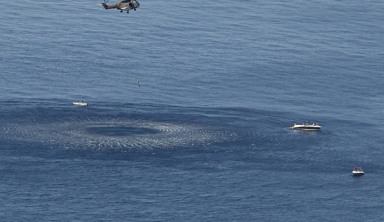 Imágen de archivo de un rescate de Salvamento Marítimo en Mallorca